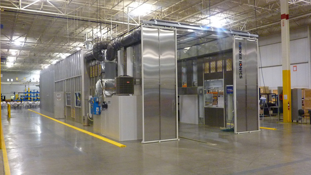 Powder Coating Hoppers - Parker Ionics - booths