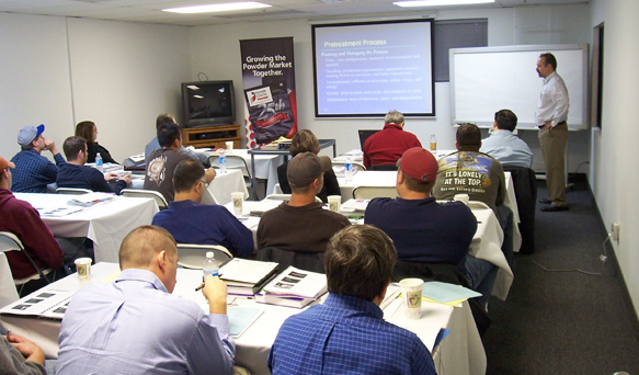 Powder Coating Service and Maintenance - Parker Ionics - lecture