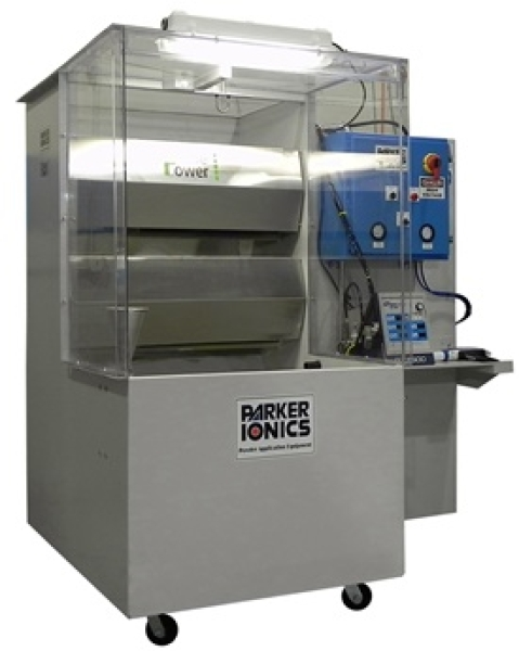 QC1000 Mobile Spray Booth