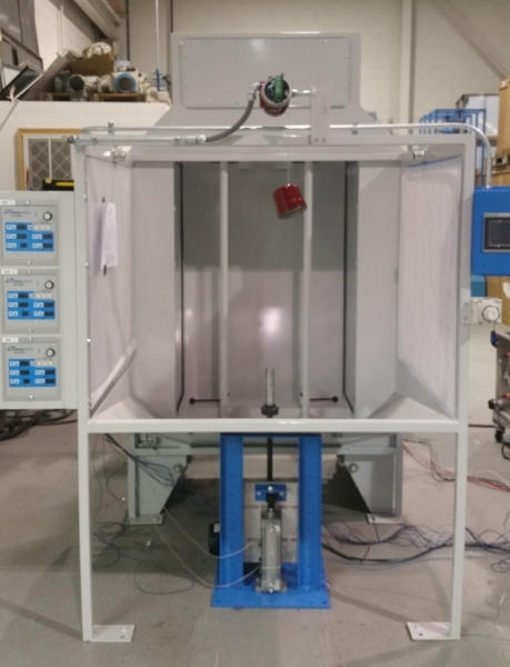 QC2000 Wheel Coating Spray Booth